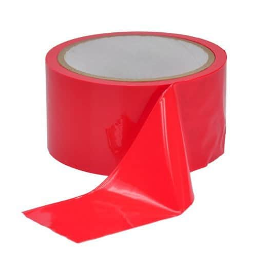 bondage-tape-red