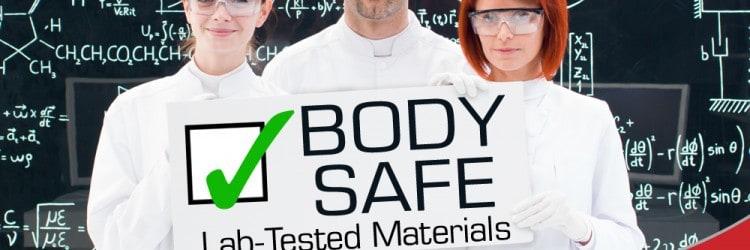 Screaming O seksilelut on valmistettu turvallisista materiaaleista