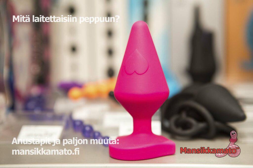 Anustapit ja anaalitapit Mansikkamato.fi