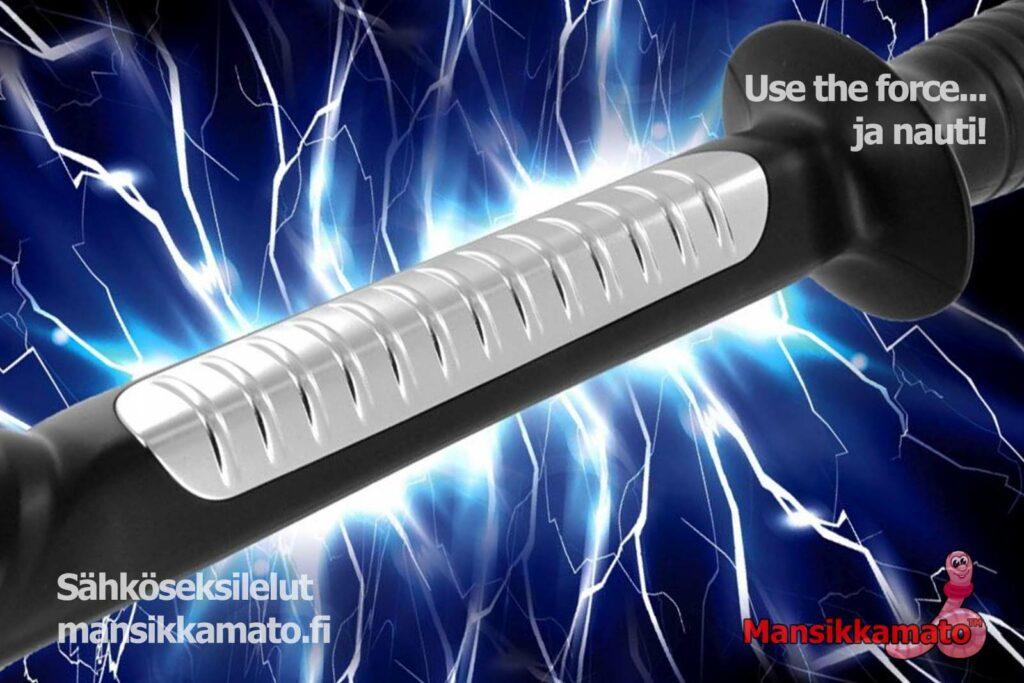 Sähköseksi ja electrosex välineet Mansikkamato
