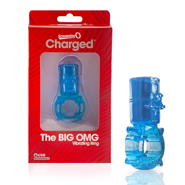 The Screaming O – Big OMG Vibrating Ring Blue