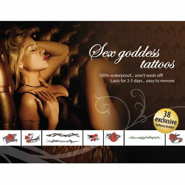 Tattoo Set  – Sex Goddes
